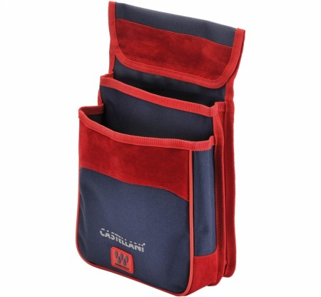Castellani patronpung Navy/Red